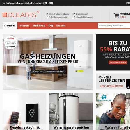 Website DULARIS.DE